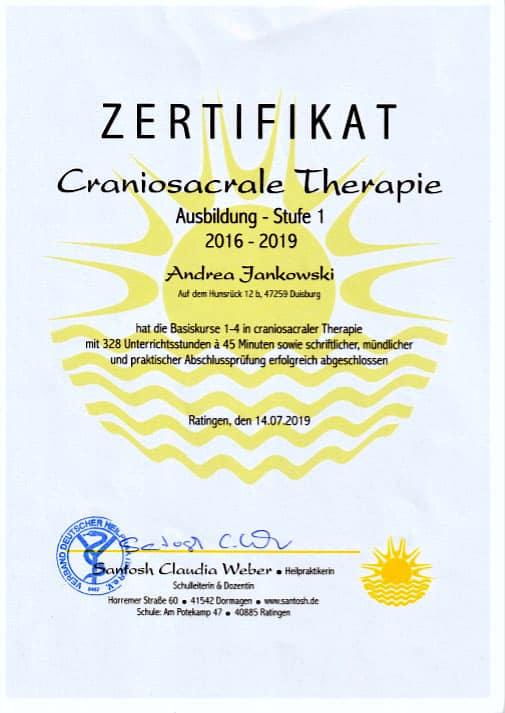 Craniosacrale Therapie Duisburg Süd
